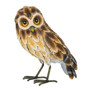 Fountasia Brown Owl Closed Wings Small (97032)